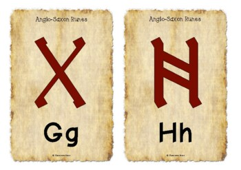 Anglo-Saxon Runes