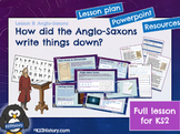 Anglo-Saxon Runes and Writing (Lesson)