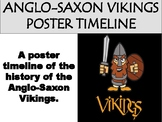 Anglo-Saxon Vikings Poster Timeline