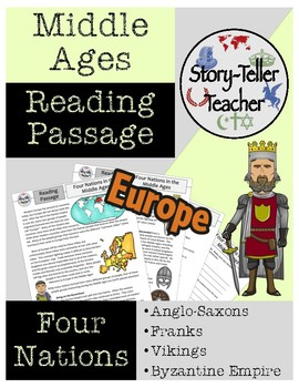 Anglo-Saxons, Franks, Vikings, and Byzantines Middle Ages Reading Passage