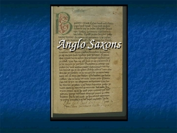 Anglo Saxons PowerPoint