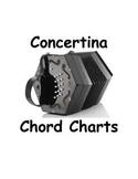 Ango-Irish Concertina C/G Chord Charts: 30 button, Wheatstone Keyboard