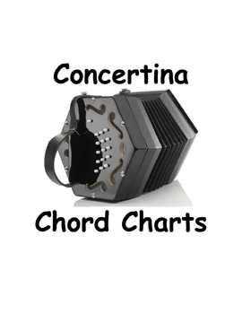 Ango-Irish Concertina C/G Chord Charts: 30 button, Wheatst