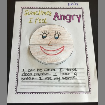 Angry Activity for Elementary
