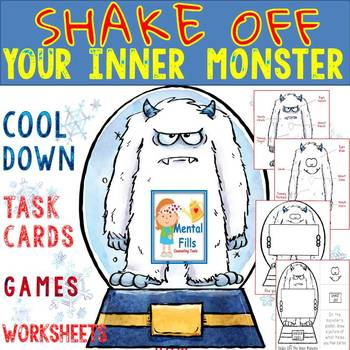 Angry Activities To Shake Off Your Inner Monster: Task Cards and Worksheets