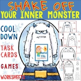 Anger Activities To Shake Off Your Inner Monster: Task Cards and Worksheets