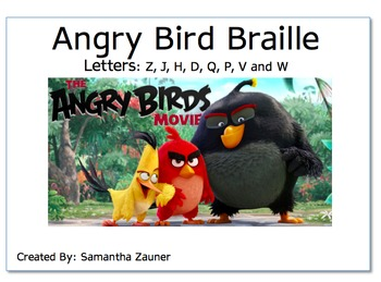 Angry Bird Braille