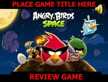 Angry Bird Game Template POWERPOINT