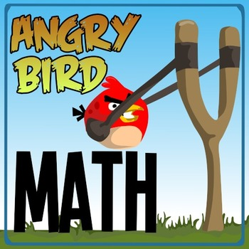 Angry Bird Math - A Kindergarten Game of Number Value, Counting & Probability