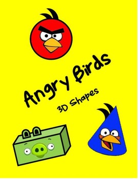 Angry Birds 3D Shapes