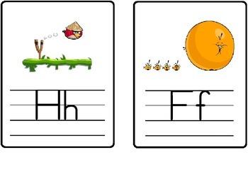 Angry Birds Alphabet Line
