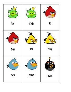 Angry Birds Articulation