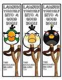 Angry Birds Bookmarks