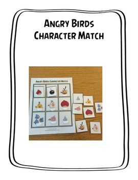 Angry Birds Character Match