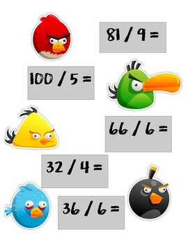 Angry Birds Division File Folder