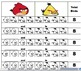 Angry Birds Kindergarten Addition Worksheet Bundle (5-10)