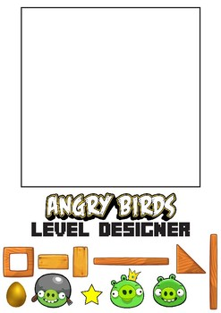 Angry Birds Level Designer Worksheet