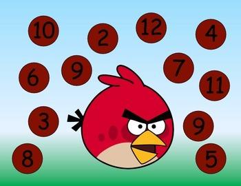 Angry Birds MEGA Stations: ELA and Math