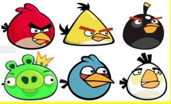 Angry Birds Maths Activity