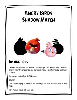 Angry Birds Shadow Match