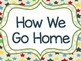 "Angry Birds Themed ""How We Get Home"" Transportation Clip Chart"