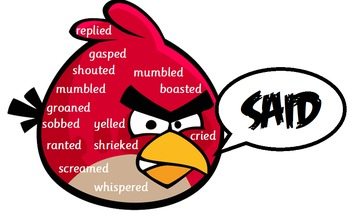 Angry (Birds) Words- Synonyms Display