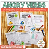 Angry Verbs: Action and Linking Verbs Distance Learning