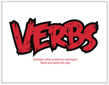 Angry Verbs: Title Outline