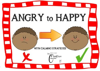 Angry to happy *Tips to try when angry *Self regulation *Calming *Anger Manageme