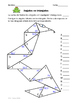 Angulos faltantes en triangulos -Missing Angles in Triangles Spanish