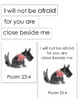Angus Lost Bible Printables (Psalm 23:4)