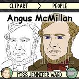 Angus McMillan Clipart