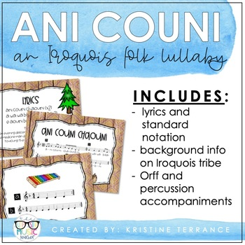 Ani Couni {An Iroquois folk lullaby}