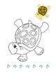 Animadance Children's Coloring Book - Dancing Animals