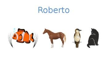 Animais / Animales  Detectives Speaking activity