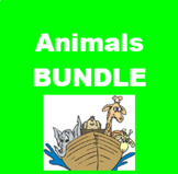 Animais (Animals in Portuguese) Bundle