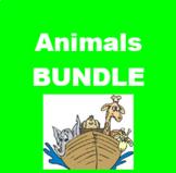 Animais (Animals in Portuguese) Bundle