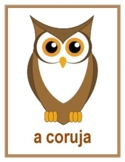 Animais (Animals in Portuguese) Posters