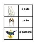 Animais (Animals in Portuguese) Concentration games