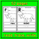 Animal A to Z Read Trace and Write - An Animal Literacy Center