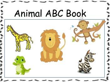Animal ABC Class Book