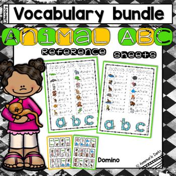 Animal ABC Vocabulary  ~Bundle~