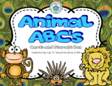 Animal Alphabet ABC's Cards and Box