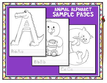 Animal ABCs sample