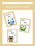 Animal Action Cards | LCI Movement
