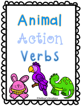 Animal Action Verbs