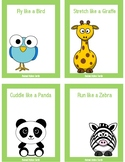 Animal Action and Movement Cards