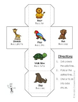 Animal Actions - Following Directions
