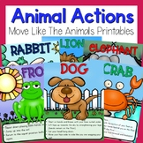 Preschool Brain Breaks - Animal Actions