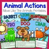 Preschool Brain Breaks - Animal Actions